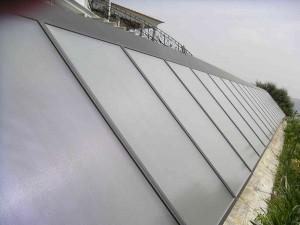 Colectores solares pavimento radiante e AQS