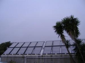 Colectores solares Piscina Açores