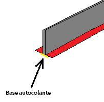 Junta de dilatação pavimento radiante