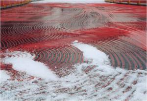 Pista gelo pavimento radiante 2